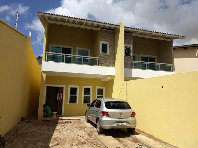 Casas duplex no Eusébio, 3 quartos 4 vagas fino acabamento - Foto 13