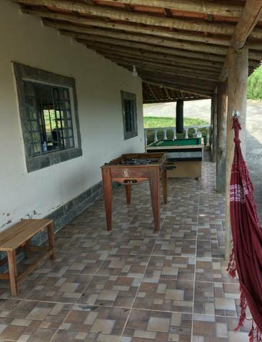 Casa com piscina em s.José de Almeida. 350 a diária do fim de semana comum - Foto 19