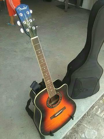 Vende-se guitarra fender eletroacustica