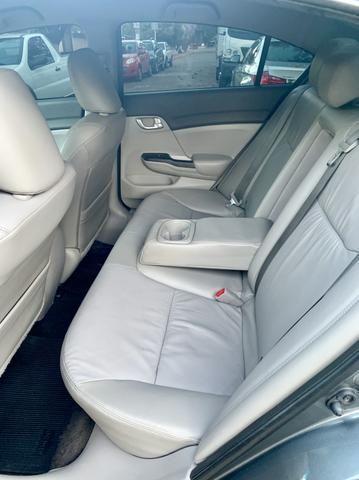 Civic LXR 2.0 2014, câmbio automático e bancos em couro(preço melhor para venda) - Foto 9