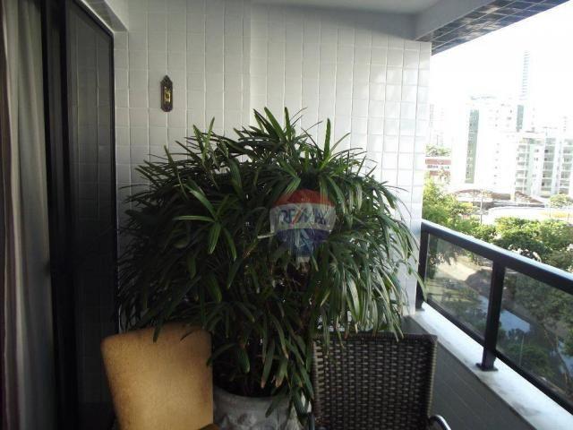 Apartamento residencial à venda, Boa Viagem, Recife. - Foto 3