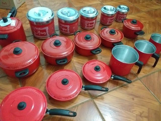 Kit completo 17 peças pra cozinha - Foto 3