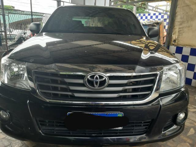 Toyota Hilux ano 2015 2.7 automático Gnv 5 geração - Foto 3