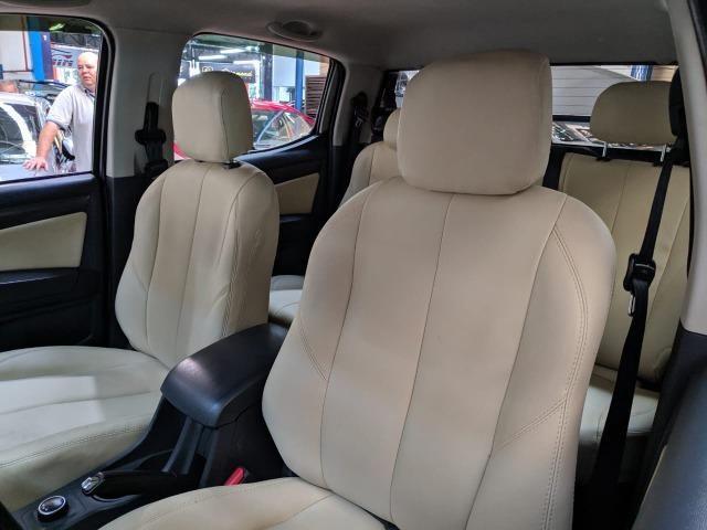 Chevrolet S10 LTZ 2.8 Diesel Cab Dupla 2014 Automática Preta (Completa + Couro) - Foto 9