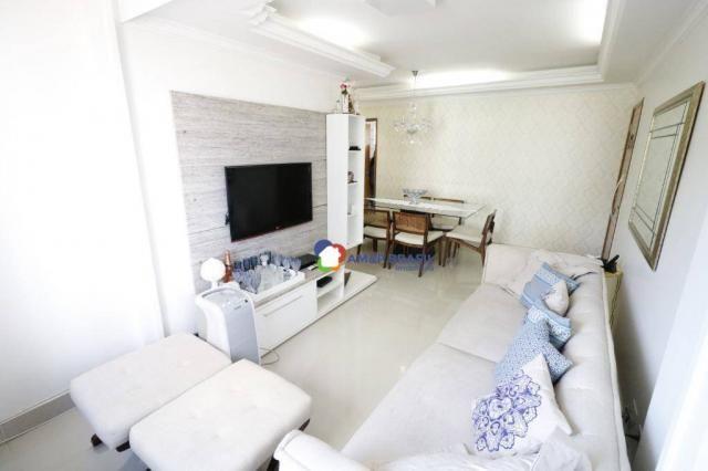 Apartamento com 3 dormitórios à venda, 80 m² por r$ 290.000,00 - setor nova suiça - goiâni - Foto 4