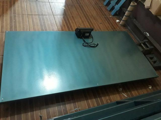 Balança De plataforma 300kg/500kg/1000kg/3000kg Ferro velho/reciclagem - Foto 5
