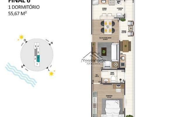 Lançamento Apartamento na Ocian em Praia Grande - Foto 20