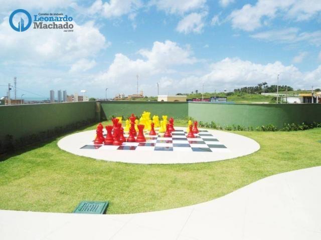 Apartamento com 3 dormitórios à venda, 78 m² por R$ 510.000 - Praia do Futuro - Fortaleza/ - Foto 11