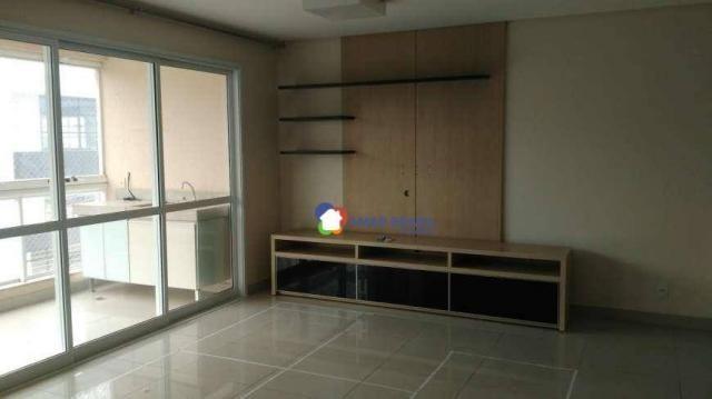 Apartamento com 3 dormitórios à venda, 111 m² por R$ 575.000,00 - Serrinha - Goiânia/GO - Foto 3