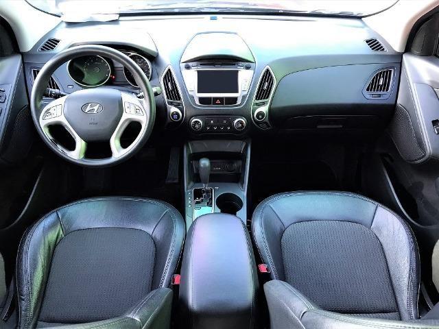 Hyundai IX35 Botão Start, Automática, Top + Kit GNV Última Geração, Baixa km. Lindo Carro! - Foto 11