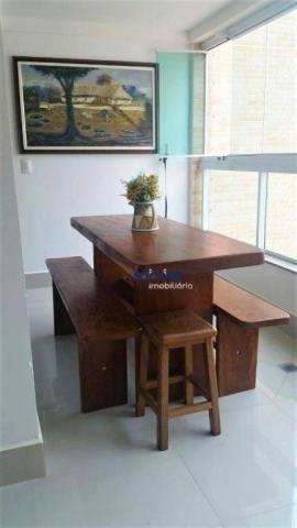 Apartamento com 3 dormitórios à venda, 122 m² por r$ 729.000 - setor bueno - goiânia/go - Foto 4