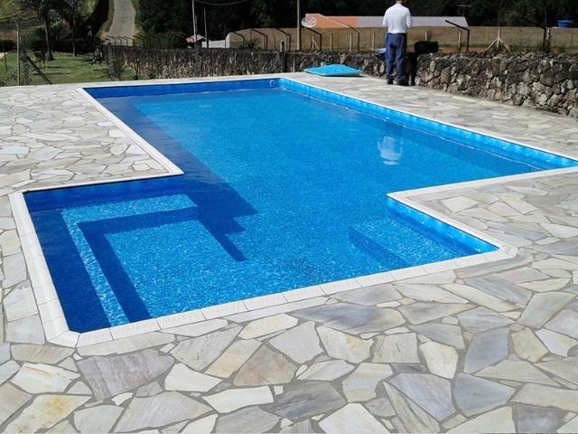 Piscina - Construímos a sua Piscina de Vinil e Azulejo - Foto 3