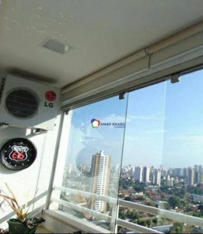 Apartamento com 2 dormitórios à venda, 69 m² por r$ 250.000,00 - parque amazônia - goiânia - Foto 7