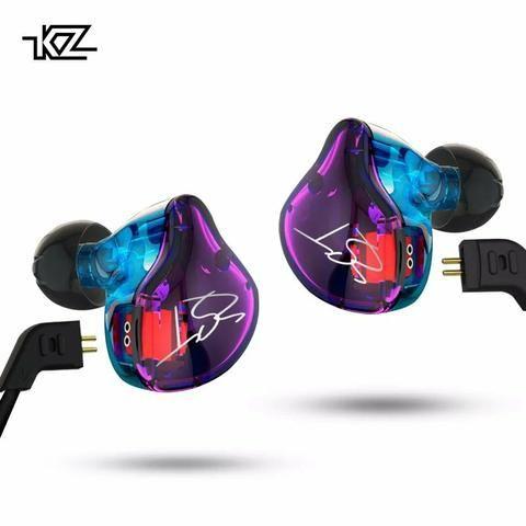 Fone Kz zst pro dual drive prof bass para retorno de palco grave pesado - Foto 3