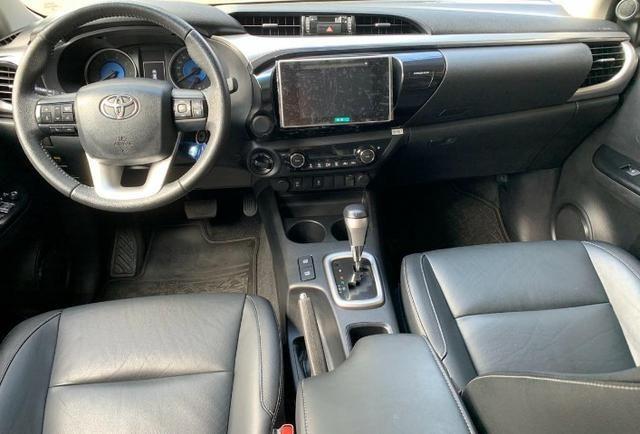 Toyota Hilux SRV 2.8 4X4 Diesel 2016 - Foto 10