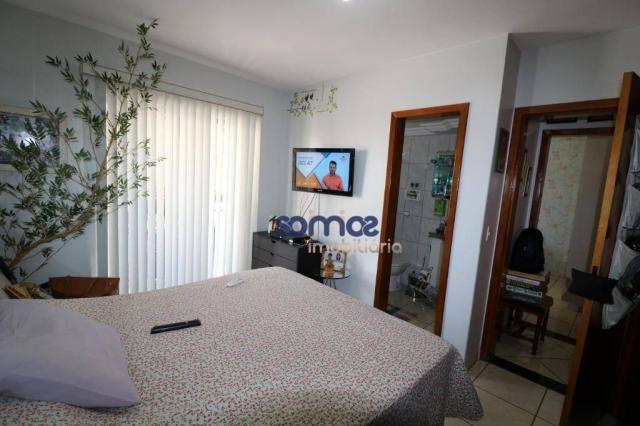 Apartamento com 3 dormitórios à venda, 95 m² por r$ 275.000,00 - jardim américa - goiânia/ - Foto 13