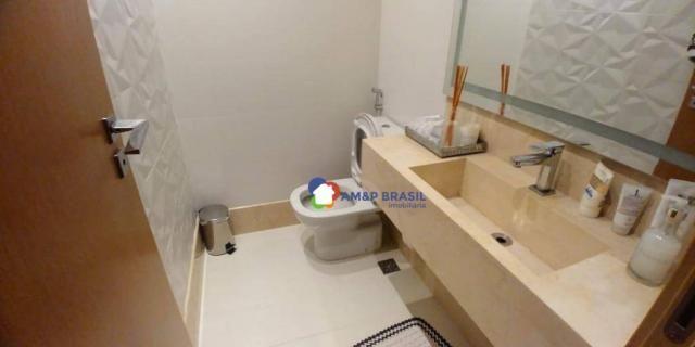 Apartamento com 3 dormitórios à venda, 179 m² por r$ 1.250.000,00 - setor marista - goiâni - Foto 16