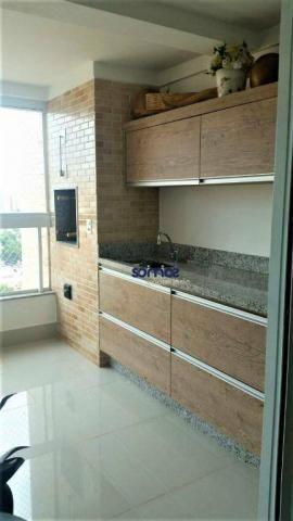 Apartamento com 3 dormitórios à venda, 122 m² por r$ 729.000 - setor bueno - goiânia/go - Foto 2