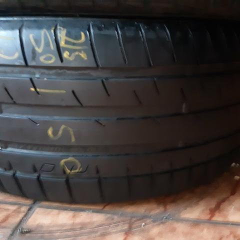 Dois pneus 215.50/17 Mais de meia vida - Foto 2