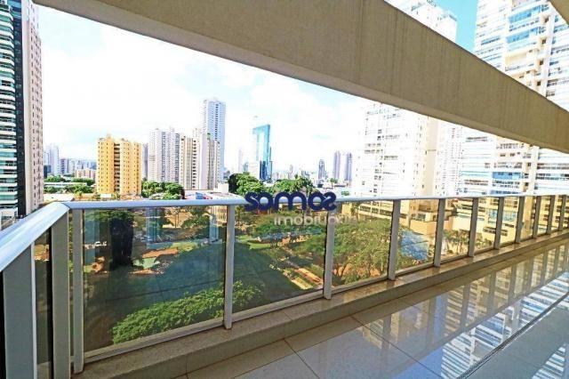 Apartamento duplex com 4 dormitórios à venda, 288 m² por r$ 2.080.000,00 - setor bueno - g - Foto 3