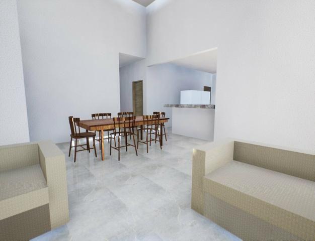 Casa nova 3suítes churrasqueira ofurô rua 10 Vicente Pires condomínio fechado - Foto 6