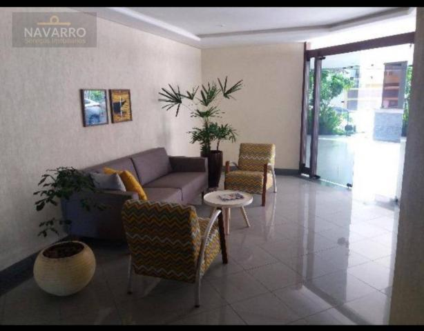 Apartamento com 1 dormitório à venda, 48 m² por r$ 250.000 - graça - salvador/ba - Foto 2