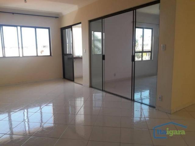 Cobertura com 4 dormitórios para alugar, 200 m²- pitangueiras - lauro de freitas/ba - Foto 15
