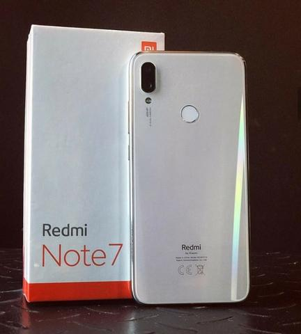 Celular Xiaomi Redmi Note 7 64GB Versão Global Vermelho e Branco - Foto 4