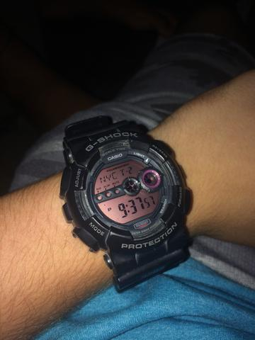 df215a1757b Casio G-Shock GD-100ms preto Original - Bijouterias