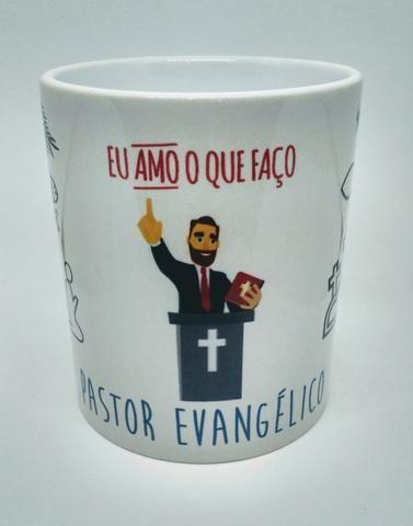 c129351cd Caneca Personalizada Pastor e Pastora Evangélicos - Utilidades ...