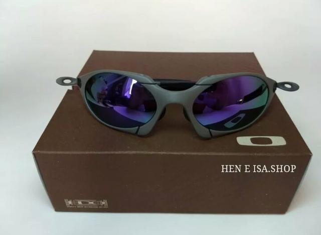 a4faed98e Óculos Oakley Romeo 1 xmetal roxo Novo Polarizado Frete grátis - Foto 2