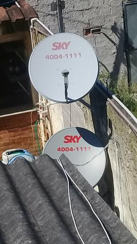 Vendo antenas sky