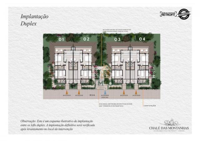 Loft com 3 dormitórios à venda, 138 m² por R$ 1.550.00 - Macapá - Guaramiranga/CE - Foto 7