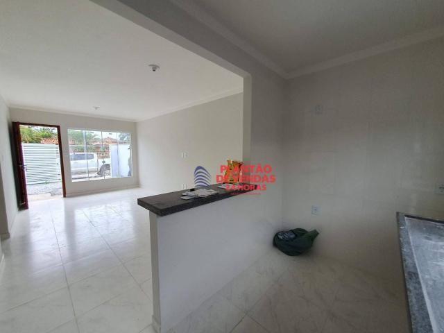Ótimas casas lineares 3 quartos (opção de piscina e deck) - Enseada das Gaivotas - Rio das - Foto 12