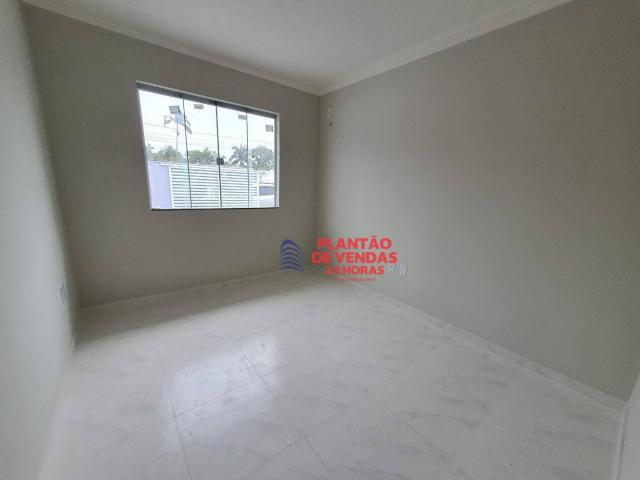 Ótimas casas lineares 3 quartos (opção de piscina e deck) - Enseada das Gaivotas - Rio das - Foto 18