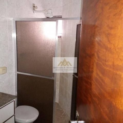 Apartamento com 3 dormitórios para alugar, 89 m² por R$ 1.050/mês - Vila Tibério - Ribeirã - Foto 13