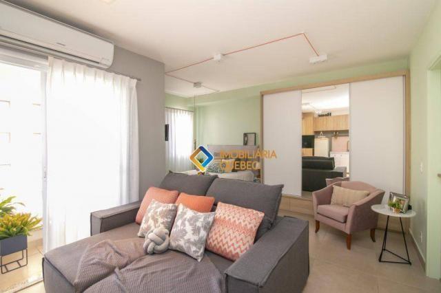 Apartamento com 1 dormitório para alugar, 41 m² por r$ 2.000/mês - ribeirânia - ribeirão p