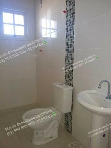Excelentes Casas 2 Dormitórios 2 Vaga Gravataí Bom Sucesso Documentação Gratuita!! - Foto 2