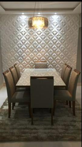 Mesa de jantar Nova Deli oito lugares