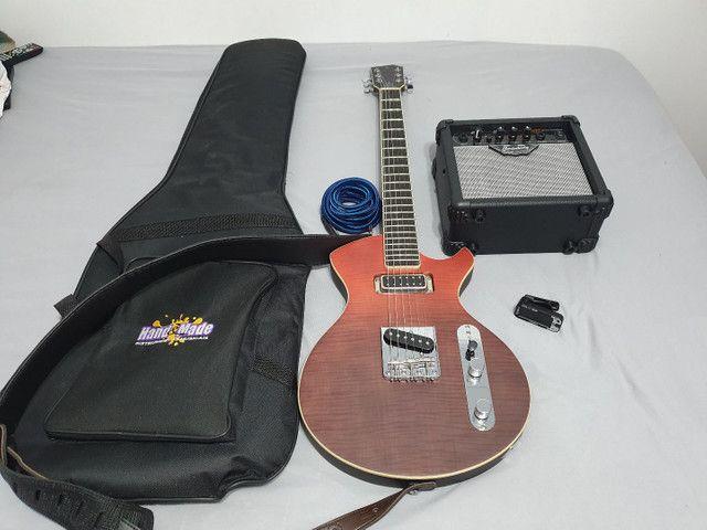 Linda Guitarra Stagg Silveray less pool - Foto 4
