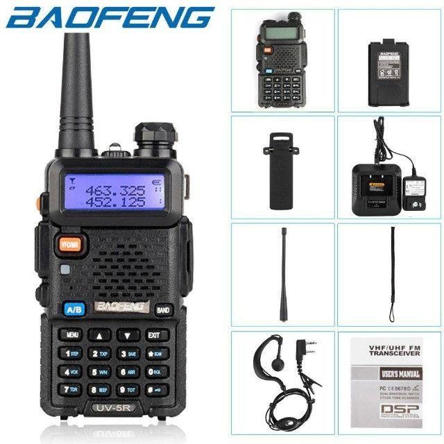 Rádio Ht Dual Band Uhf + Vhf Baofeng Uv-5r Rádio