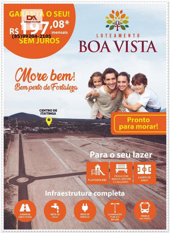 Lotes Boa Vista >>> Seu melhor Investimento<< - Foto 2