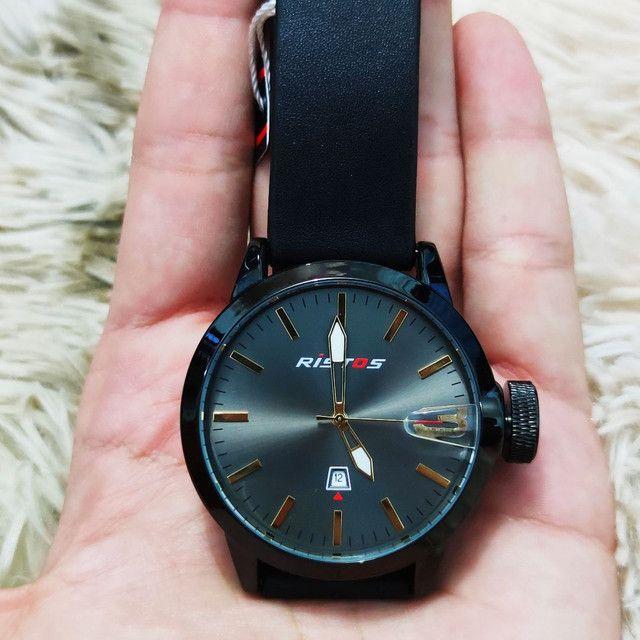 Relógio masculino importado original Ristos - Foto 2