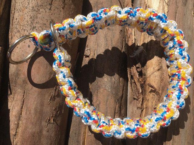 Guias e coleiras de corda artesanal