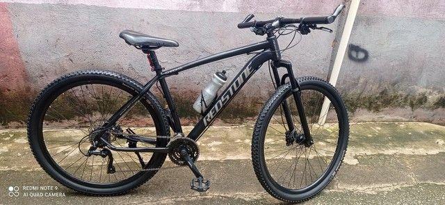 Bicicleta Redstone aro 29 e com freio Hidráulico.
