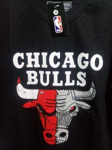 Camisa Chicago Bulls Preta  - Foto 2