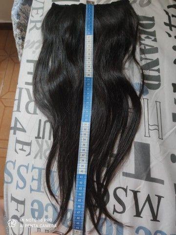 Mega hair cabelo humano natural - Foto 2