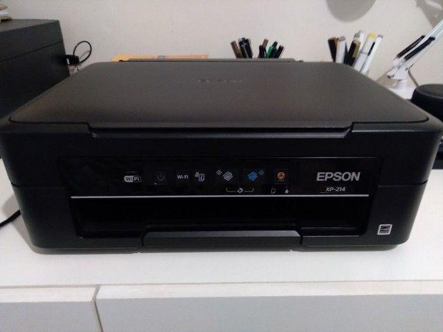 Multifuncional Jato de Tinta Epson XP-214 Wireless - Foto 2