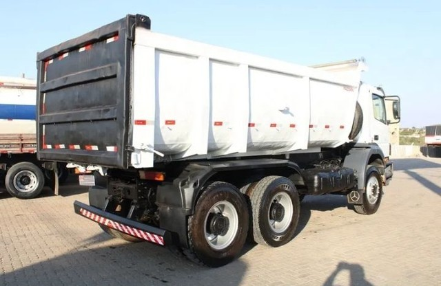 Caminhão MB 3131 6×4 Caçamba Basculante - Foto 2