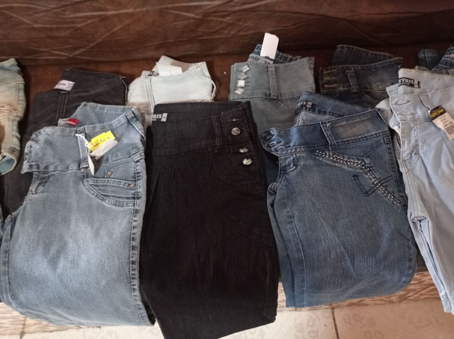 Calça jeans e shorts jeans feminina - Foto 4